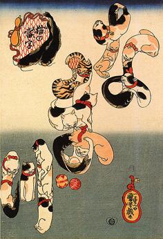 Utagawa Japanese bobtail