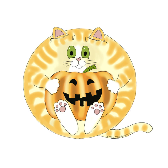 Bauble Halloween Cat