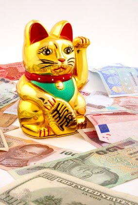 money cat maneki neko