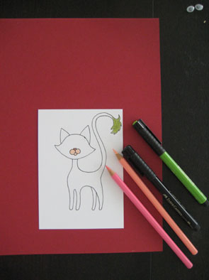 christmas card making ideas